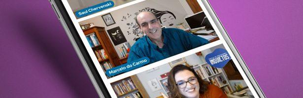 Confira o vídeo da masterclass com Alessandra Gonzaga e Marcelo do Carmo